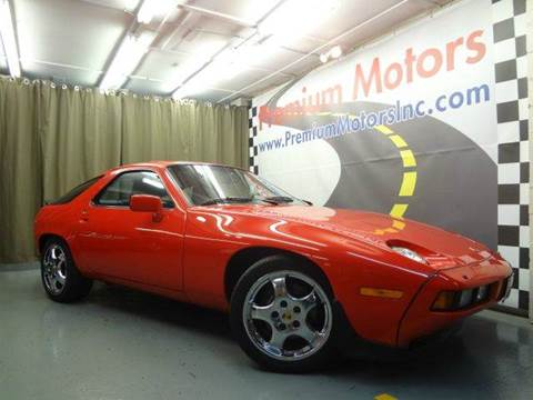 1986 Porsche 928 for sale at Premium Motors in Villa Park IL