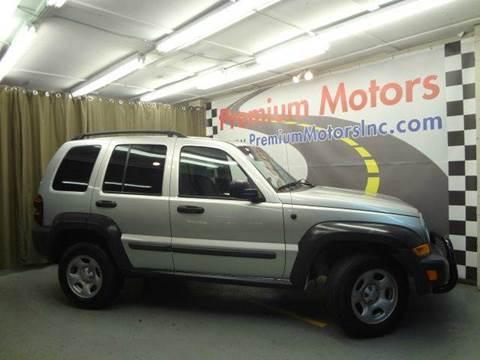 2007 Jeep Liberty for sale at Premium Motors in Villa Park IL