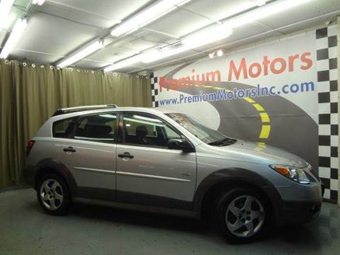 2008 Pontiac Vibe for sale at Premium Motors in Villa Park IL