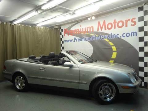 1999 Mercedes-Benz CLK for sale at Premium Motors in Villa Park IL
