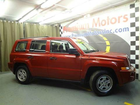 2008 Jeep Patriot for sale at Premium Motors in Villa Park IL