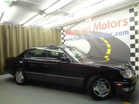 1998 Lexus LS 400 for sale at Premium Motors in Villa Park IL