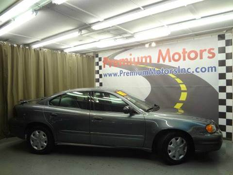 2005 Pontiac Grand Am for sale at Premium Motors in Villa Park IL