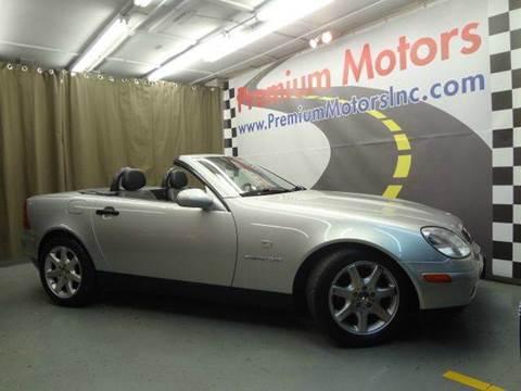 1999 Mercedes-Benz SLK for sale at Premium Motors in Villa Park IL
