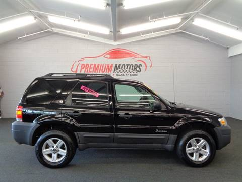 2007 Ford Escape Hybrid for sale at Premium Motors in Villa Park IL