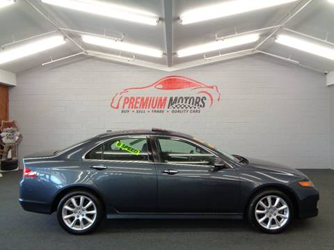 2007 Acura TSX for sale at Premium Motors in Villa Park IL