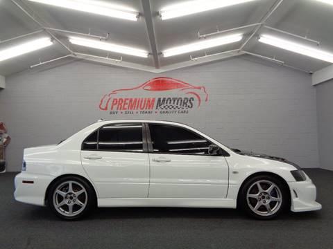 2005 Mitsubishi Lancer Evolution for sale at Premium Motors in Villa Park IL