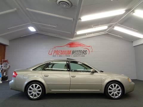 2004 Audi A6 for sale at Premium Motors in Villa Park IL
