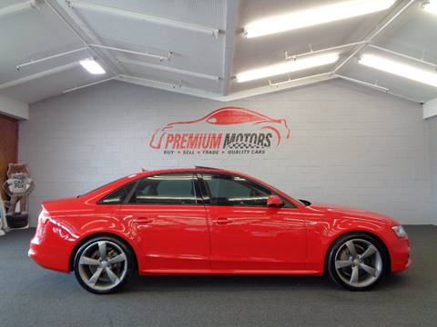 2014 Audi A4 for sale at Premium Motors in Villa Park IL