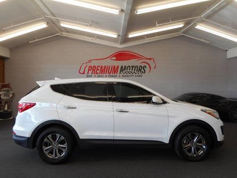 2014 Hyundai Santa Fe Sport for sale at Premium Motors in Villa Park IL
