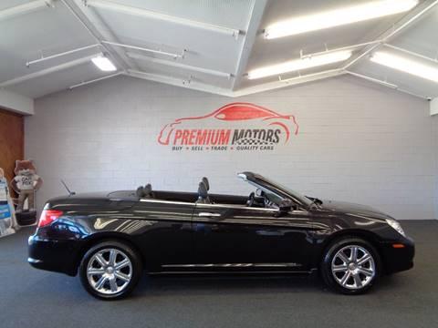2010 Chrysler Sebring for sale at Premium Motors in Villa Park IL