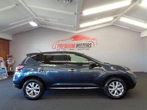 2013 Nissan Murano for sale at Premium Motors in Villa Park IL