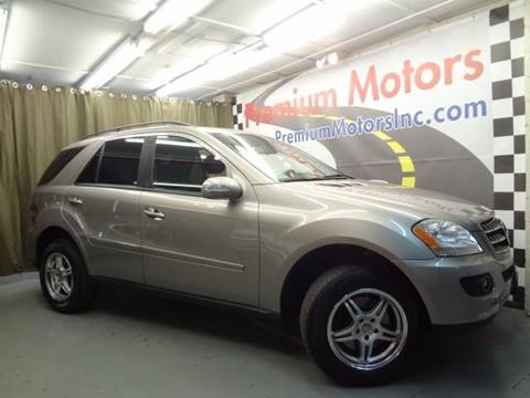 2007 Mercedes-Benz M-Class for sale at Premium Motors in Villa Park IL