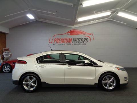 2012 Chevrolet Volt for sale at Premium Motors in Villa Park IL