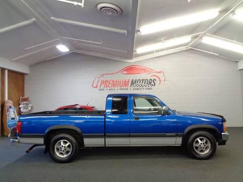 1996 Dodge Dakota for sale at Premium Motors in Villa Park IL