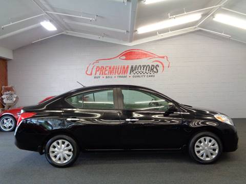 2012 Nissan Versa for sale at Premium Motors in Villa Park IL
