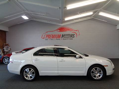 2007 Ford Fusion for sale at Premium Motors in Villa Park IL