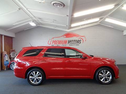 2012 Dodge Durango for sale at Premium Motors in Villa Park IL