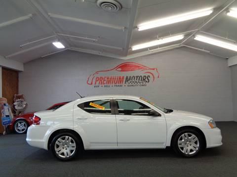 2012 Dodge Avenger for sale at Premium Motors in Villa Park IL