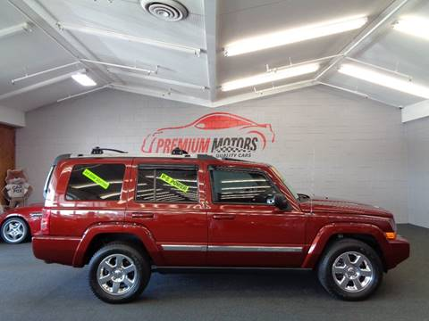 2008 Jeep Commander for sale at Premium Motors in Villa Park IL