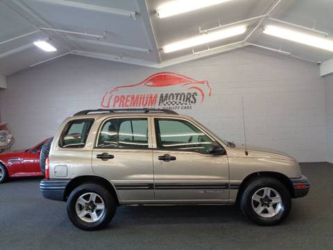 2002 Chevrolet Tracker for sale at Premium Motors in Villa Park IL
