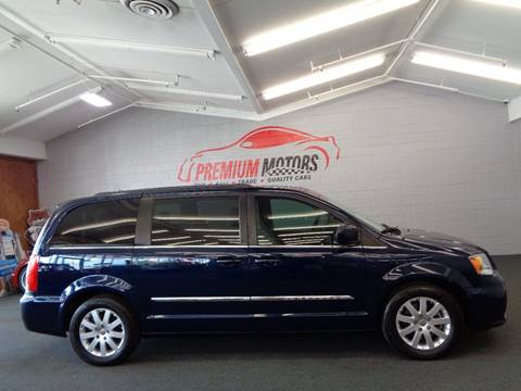 2013 Chrysler Town and Country for sale at Premium Motors in Villa Park IL