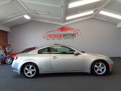 2005 Infiniti G35 for sale at Premium Motors in Villa Park IL