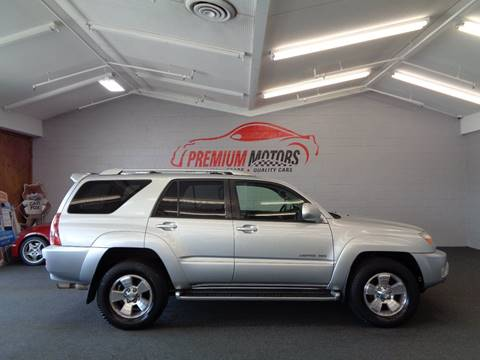 2003 Toyota 4Runner for sale at Premium Motors in Villa Park IL