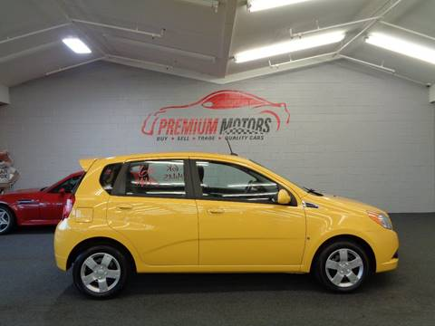 2009 Chevrolet Aveo for sale at Premium Motors in Villa Park IL