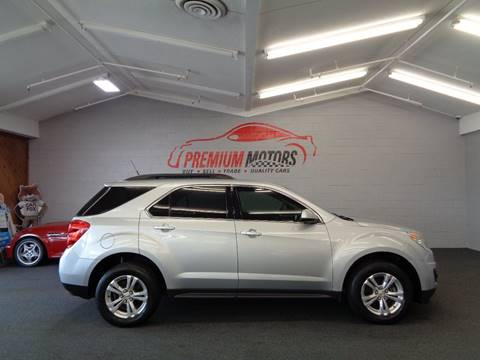 2011 Chevrolet Equinox for sale at Premium Motors in Villa Park IL