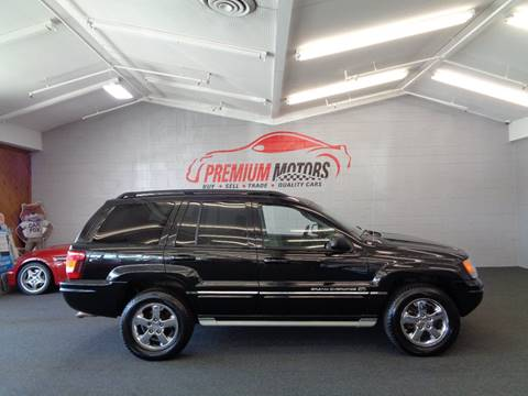 2004 Jeep Grand Cherokee for sale at Premium Motors in Villa Park IL