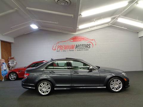 2008 Mercedes-Benz C-Class for sale at Premium Motors in Villa Park IL