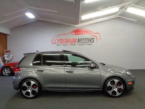 2012 Volkswagen GTI for sale at Premium Motors in Villa Park IL