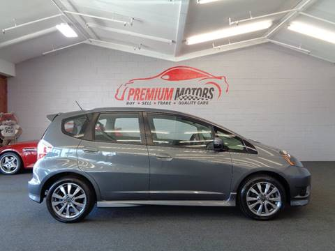 2013 Honda Fit for sale at Premium Motors in Villa Park IL