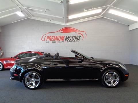 2003 Lexus SC 430 for sale at Premium Motors in Villa Park IL