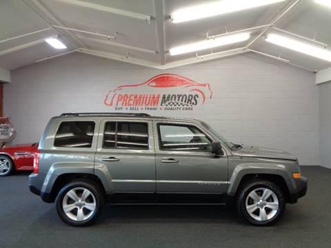 2011 Jeep Patriot for sale at Premium Motors in Villa Park IL