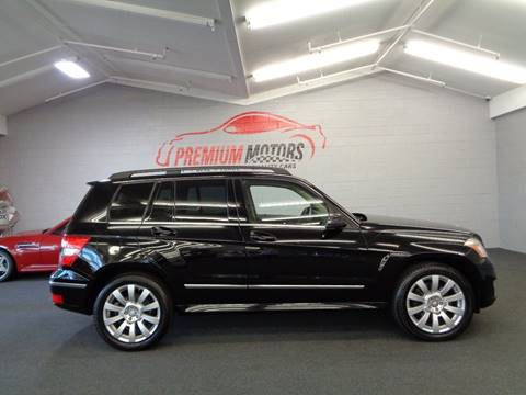 2011 Mercedes-Benz GLK for sale at Premium Motors in Villa Park IL