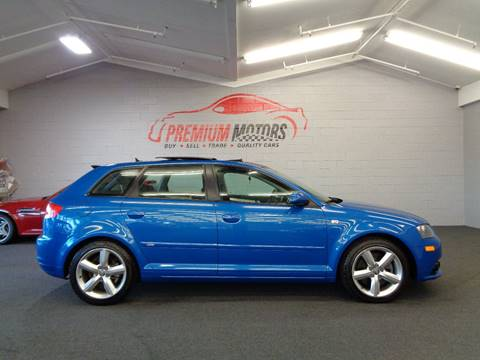 2008 Audi A3 for sale at Premium Motors in Villa Park IL