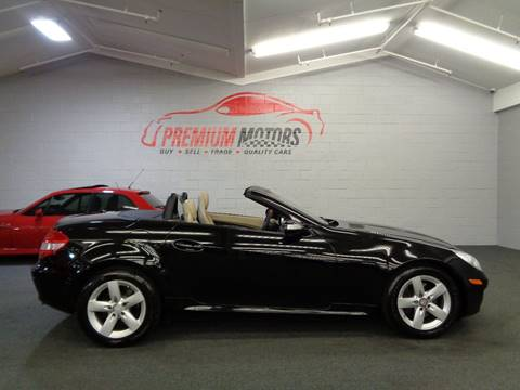 2008 Mercedes-Benz SLK for sale at Premium Motors in Villa Park IL