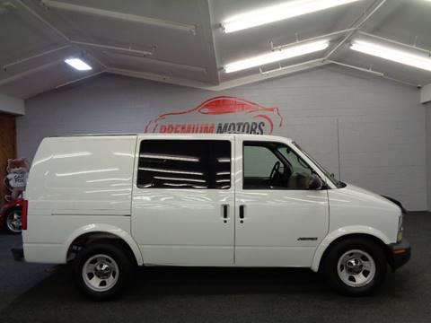 2002 Chevrolet Astro Cargo for sale at Premium Motors in Villa Park IL