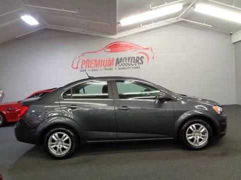 2012 Chevrolet Sonic for sale at Premium Motors in Villa Park IL