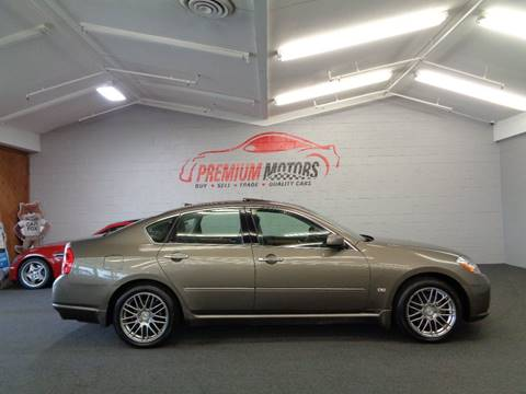 2006 Infiniti M35 for sale at Premium Motors in Villa Park IL