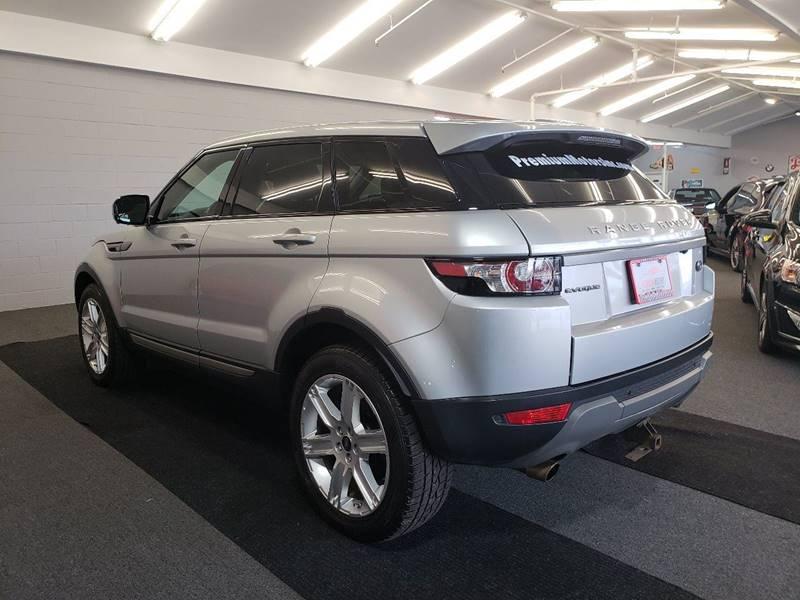 2013 Land Rover Range Rover Evoque AWD Pure Premium 4dr SUV In Villa