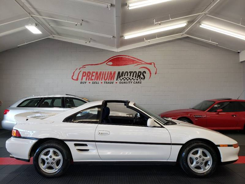 1991 Toyota Mr2 2dr Coupe In Villa Park Il Premium Motors