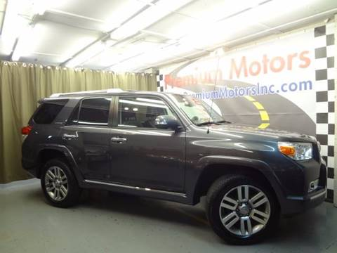 2011 Toyota 4Runner for sale at Premium Motors in Villa Park IL