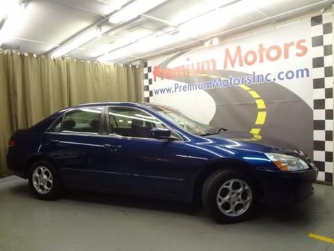 2003 Honda Accord for sale at Premium Motors in Villa Park IL