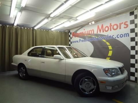 1999 Lexus LS 400 for sale at Premium Motors in Villa Park IL