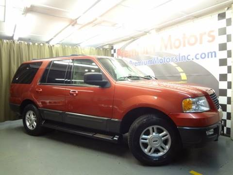 2003 Ford Expedition for sale at Premium Motors in Villa Park IL
