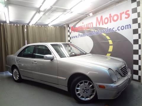 2002 Mercedes-Benz E-Class for sale at Premium Motors in Villa Park IL