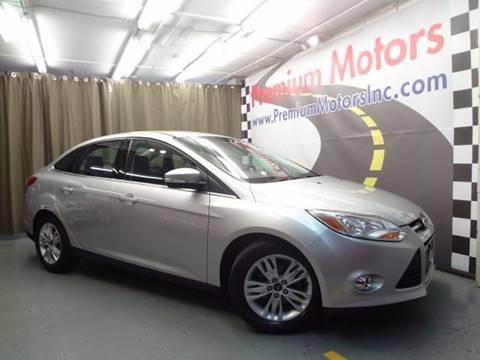 2012 Ford Focus for sale at Premium Motors in Villa Park IL